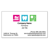 Light Dentistry Business Card ID # B73-1029241