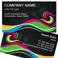 Stylish-1 Business Card ID # B73-00000005