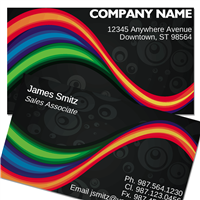 Stylish-2 Business Card ID # B73-00000006